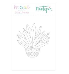 Sello Mintopía Planta tropical
