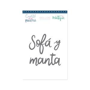 Sello Sofá y Manta