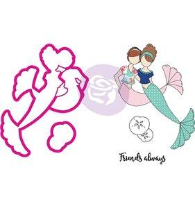 Sellos y Troqueles Mermaid Kisses Besties Julie Nutting