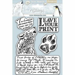 Sellos tipo Cling Stampería Artic Antartic Leave your Print