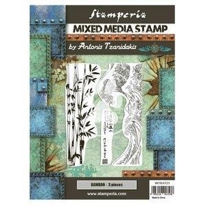 Sellos tipo Cling Stampería Sir Vagabond in Japan Bamboo