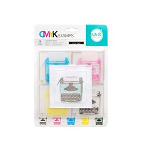 Sello Typewriter CMYK WRMK