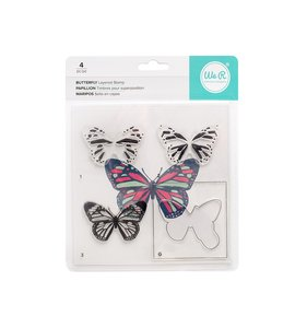 Sello en capas Butterfly WRMK