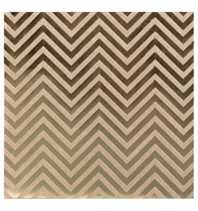 Cartulina kraft Gold Chevron
