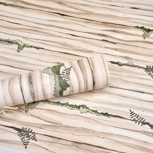 Textura encuadernación Alas de Hada Madera