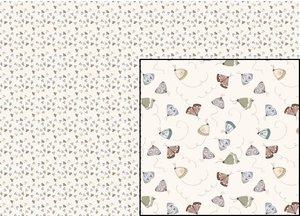 Tela Mariposas Un Día de Picnic de El Altillo de los Duendes 70 x 40 cm