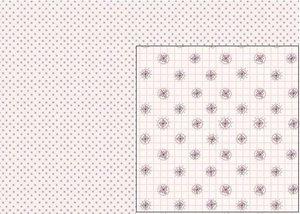 Tela Flores Rosas Un Poblado Mágico de El Altillo de los Duendes 70 x 40 cm