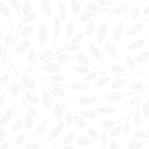 Vellum con foil Isatis Leaves White