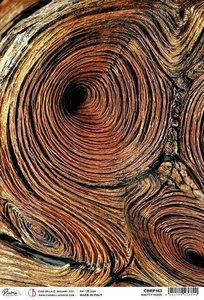 Papel de arroz Ciao Bella A4 Knotty Wood