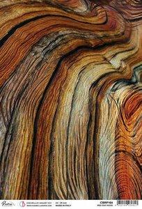 Papel de arroz Ciao Bella A4 Red Oak Wood
