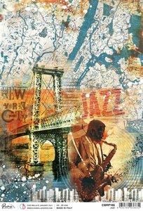 Papel de arroz Ciao Bella A4 Jazz