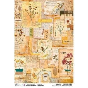 Papel de arroz Ciao Bella A4 Book of Dried Flowers
