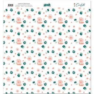 "Lienzo 12""x12"" Gaia Flores Rosas"