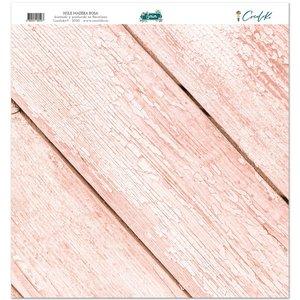 """Hule 12""""x12"""" Gaia Madera rosa"""