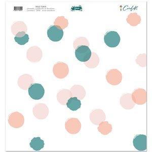 """Hule 12""""x12"""" Gaia Topos"""