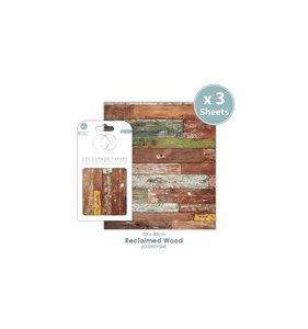 Set Papel Decoupage CC Reclaimed Wood