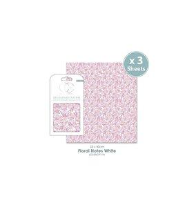 Set Papel Decoupage CC Floral Notes