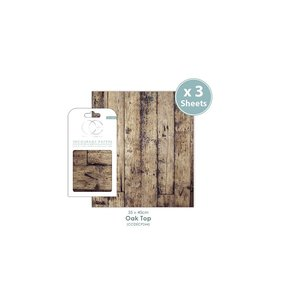 Set Papel Decoupage CC Oak Top