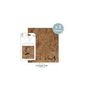 Set Papel Decoupage CC Vintage Oak