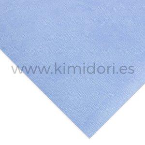 Ecopiel para encuadernar 30x50 cm lisa Azul Cielo