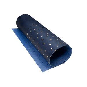 Ecopiel con foil dorado 50x25 cm Maxi Drops Dark Blue