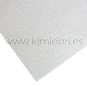 Tela para encuadernar PFY Premium 142x50 cm Metallic Silver