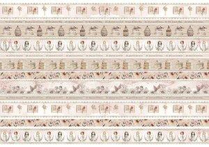Tela de encuadernar decorada 70x50 cm Un Día Mágico Niña 1