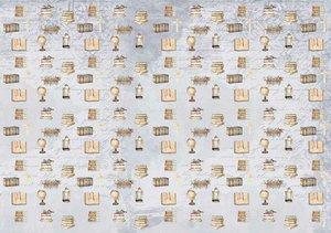 Tela de encuadernar decorada 70x50 cm Un Día Mágico Niño 3