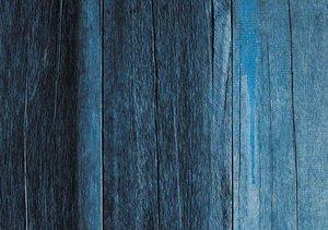 Tela de encuadernar decorada 70x50 cm Madera Azul