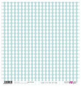 "Papel Arroz 12""x12"" Scandi Style Mini Patterns"