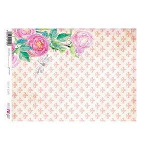 Papel Arroz A4 Ladies & Flowers