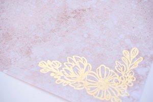 Tela de encuadernar 30x50 cm Johanna Rivero Flores con foil