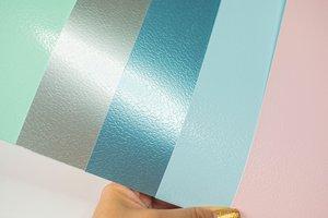 Kit cartulinas 12x12 Johanna Rivero Textura rugosa colores pastel
