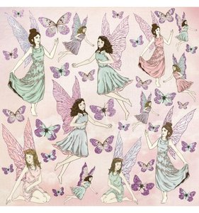 Papel especial con glitter Flutterby