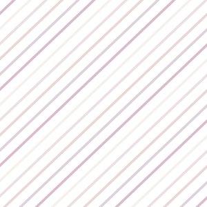 Falso cuero impreso Kimidori Colors rayas degradado rosa