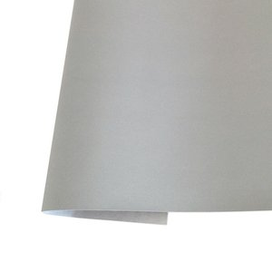 Ecopiel para encuadernar Kora Projects metalizada Plata