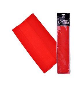 Papel Crespón Rojo 50cmx2m