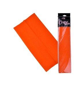 Papel Crespón Naranja 50cmx2m