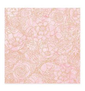 Vellum Flores Foil Bonita
