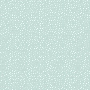 Falso cuero impreso 35 cm x 50 cm Muérdago de Mintopía Puntitos celeste