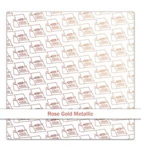 Vellum Rose Gold Foil Just My Type