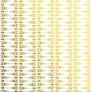 "Vellum 8""x8"" Gold Foil Shine Bright Define You"