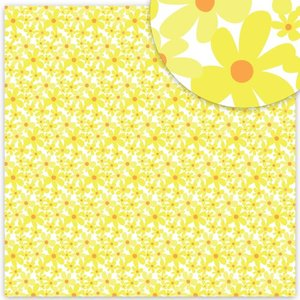 "Acetato 8""x8"" Savannah Dreams Crazy Daisy"