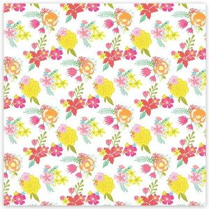 "Acetato 8""x8"" Savannah Dreams Pretty Garden"