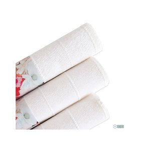Papel crepe white