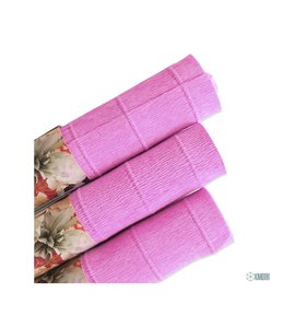 Papel crepe light fuchsia