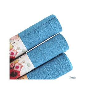 Papel crepe turquoise