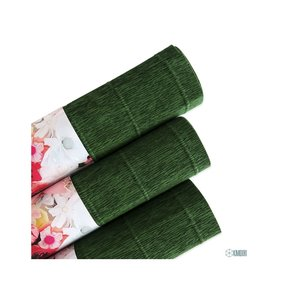 Papel crepe green
