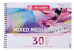 Bloc de papel A3 para Mix Media