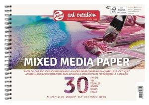 Bloc de papel A4 para Mix Media